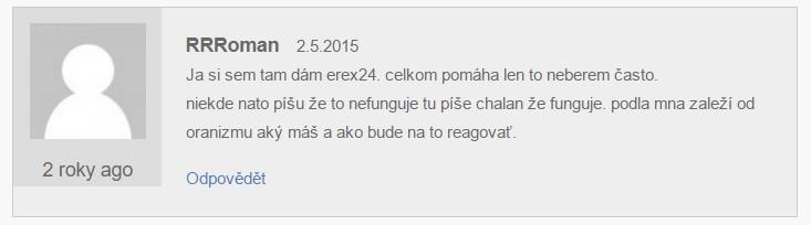 E-rex 24 hodnocení