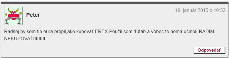 E-rex 24 diskuze