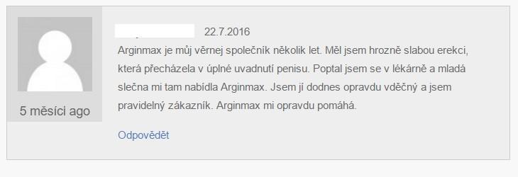 arginmax hodnocení