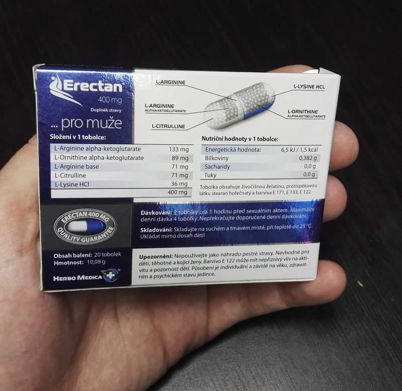 erectan 400 mg recenze